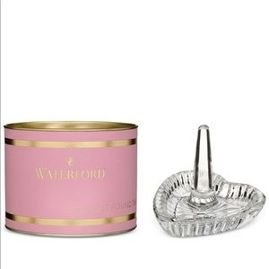 Waterford - Pink Giftology Heart Ring Holder